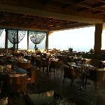 superbe restaurant à la carte - pensez à réserver !