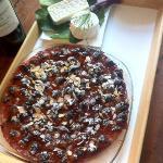 tarte aux prunes du jardin