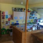 social hub in the kitchen