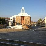 Little chapel in the resort
