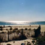 La plage à 8 minutes à pieds