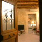 The entrance door to the appartment