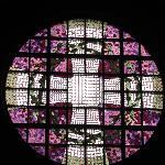 glass painting: choir window
