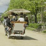 See the city's most historic park in style - Ver el parque con más historia con estilo