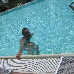 Altro lato della piscina