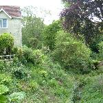 Hideaway Cottage Shanklin, viewed from the garden