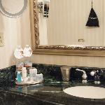 バスルームも広々してました。