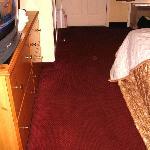 alte, dreckige Teppiche, nie gesaugt