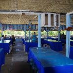 Inside one of the Restauarants