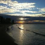 Píer Beira-mar. Vista da praia de Iracema