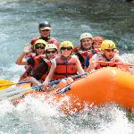 Rafting on the Gallatin River