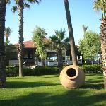 Garten und Safran-Restaurant