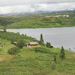 Ansicht der Lodge