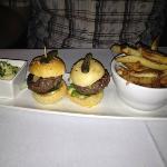 Duo of Kobe beef Burgers