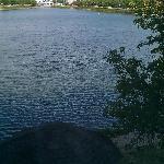 lake outside our window
