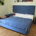 MASSIVE bed!