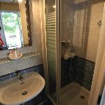 Bathroom/shower at room no 7