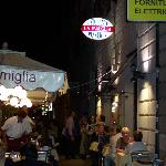 The best restaurant ever... La Famiglia, very close to Stella hotel