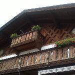 ganz oben unser Balkon :-)