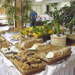 Mesa do café da manhã