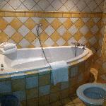 Nice big tub