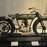Motorrad aus dem 1. Weltkrieg