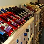 Many wines to choose from