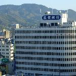 panorama dalla stanza del Monte Hiei