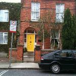 Main door of Donnybrook Hall