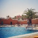 View of some of the pool