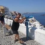 Alf at Thira