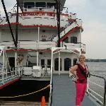 Beautiful river boat! Classic.