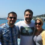 It was a beautiful day when we toured the Bosphorus!