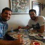 Sinan introduced us to to Turkish ravioli in Bebek neighborhod during the 'Along the Bosphorus T