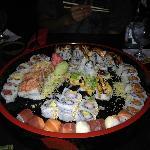 Platter of great rolls