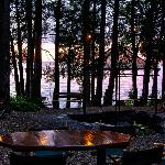 Lovely wooded setting with lake view
