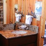 Bathroom facilities make Lodge feel freshly built