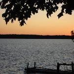 Sunset on Lake Manitou at Timberlane