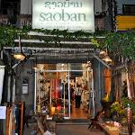 The Saoban store is in downtown Vientiane