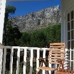 View of Table Mountain from the Guinea Fowl Room