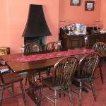 cosy breakfast room