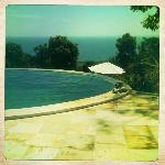 zwembad 1 met uitzicht