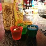 Tequila Worm Shots from the exotic Mexico