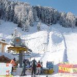 Campo Freina SKI IN AND SKI OUT hauseigener Skilift