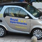 Rental Smart Car