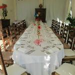 Private Dining Room--Table for 19