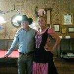 Saloon barmaid