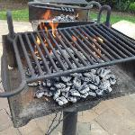 great BBQ to use on the grounds