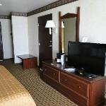 Big room with flat panel TV