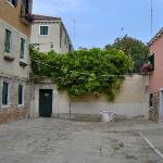 The entrance from Corte Bianco